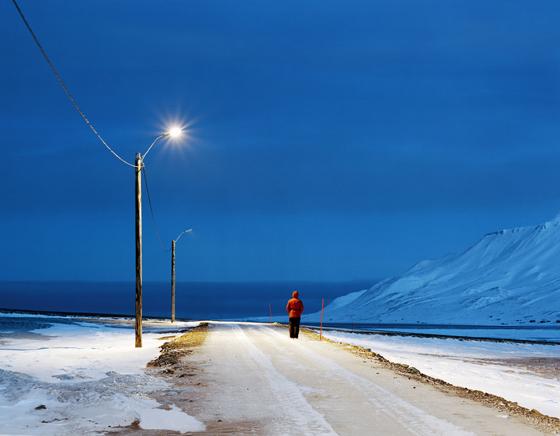 LONGYEARBYEN SVALBARD NORWAYS LANDSCAPES