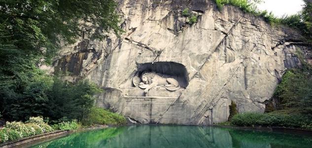 Das Löwendenkmal in Luzern - The Lion Monument in Lucerne