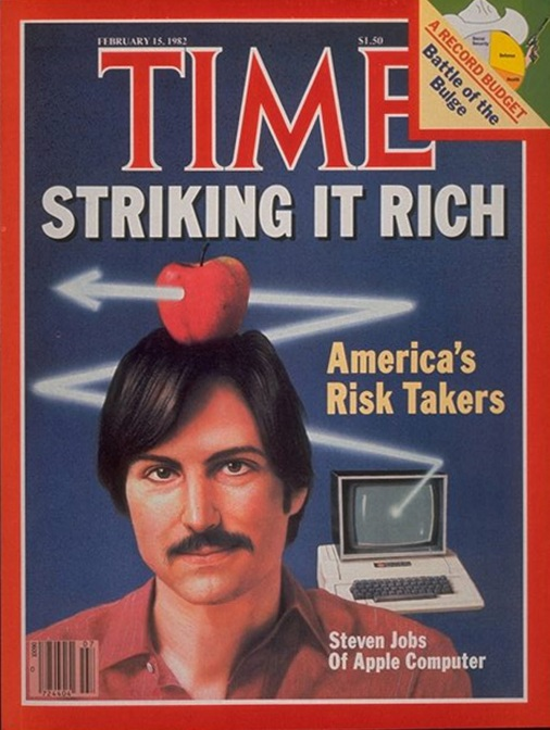 steve Jobs time cover