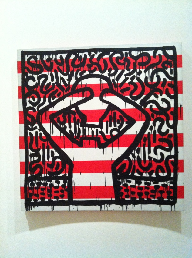 Keith Haring Political Line6