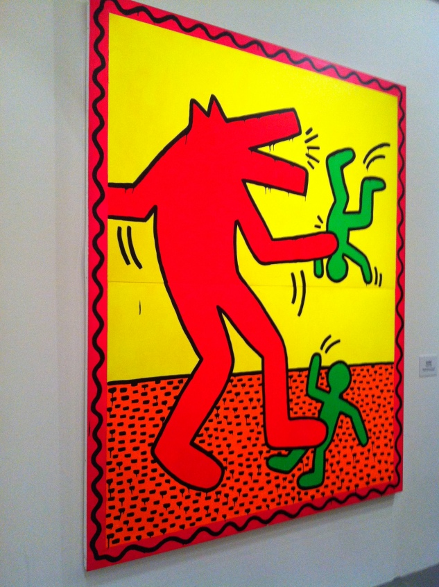 Keith Haring Political Line7