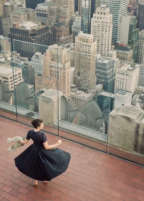 dance, top of NYC