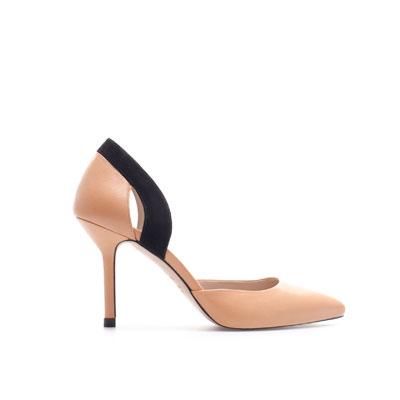 mid heel pumps
