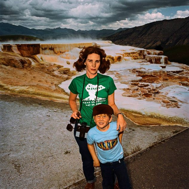 Mother-Son-at-Minervas-Terrace-Yellowstone-National-Park-WY-19801