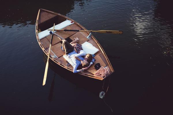 romantique barque
