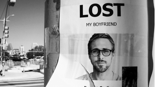lost my boyfriend ryan gosling