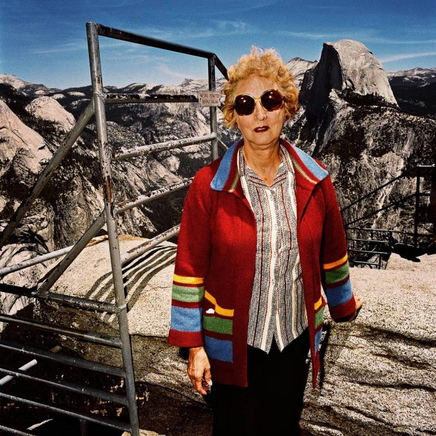 Women-with-Red-Sweater-at-Glacier-Point-Yosemite-National-Park-CA-19811