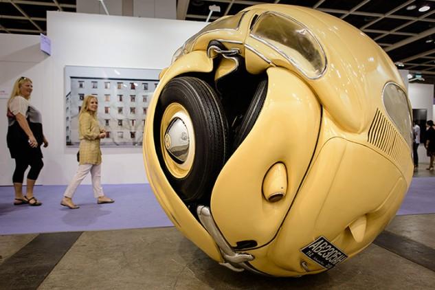 'Beetle Sphere' by Ichwan Noor