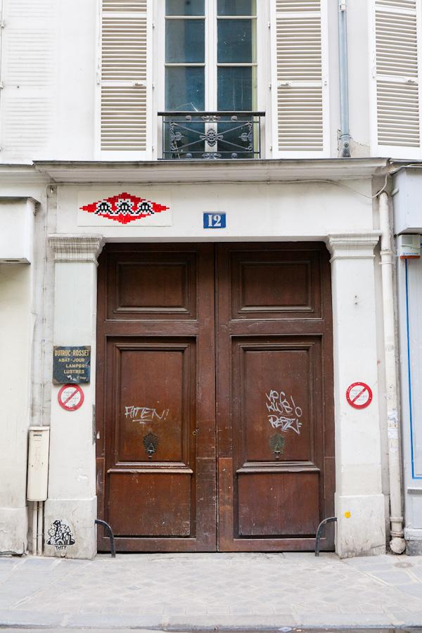 Space Invader @ Paris (France)