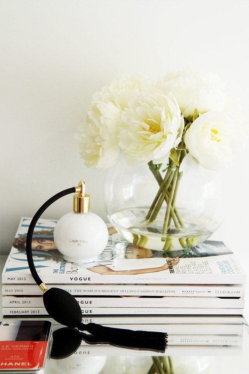vogue and flowers